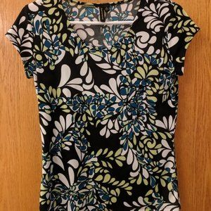 Susan Lawrence Scoop Neck Blouse Size Small